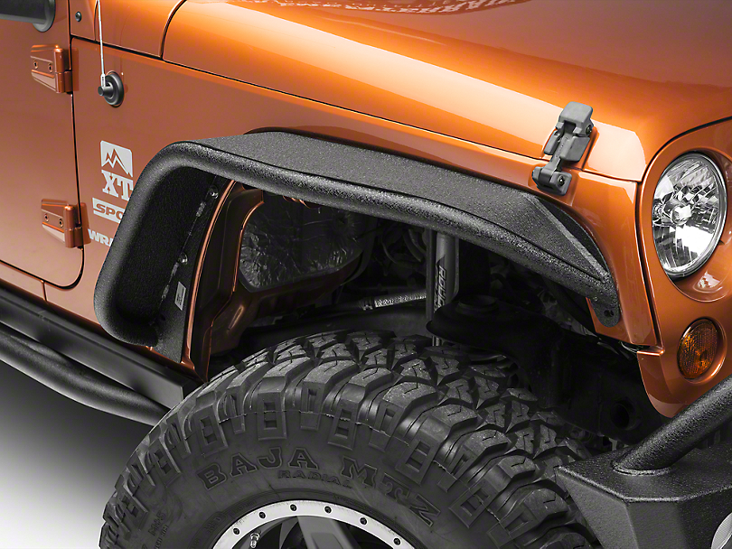 Aries Automotive Wrangler Front Tubular Fenders 1500201