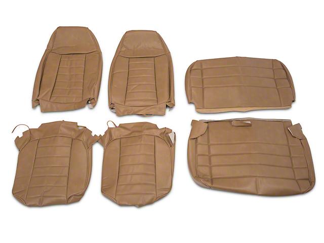 OPR Wrangler Palomino Vinyl Seat Covers J103677 B 87 95