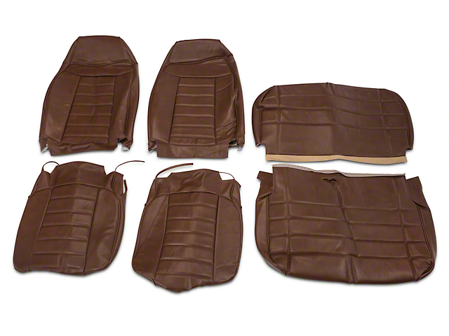 Opr Wrangler Saddle Vinyl Seat Covers J103680 B 87 95