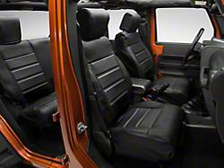 Smittybilt Wrangler Black Front And Rear Seat Cover Set