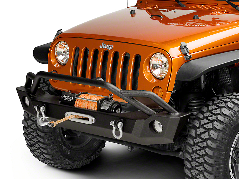 Barricade Wrangler Extreme Hd Front Bumper J103684 07 17