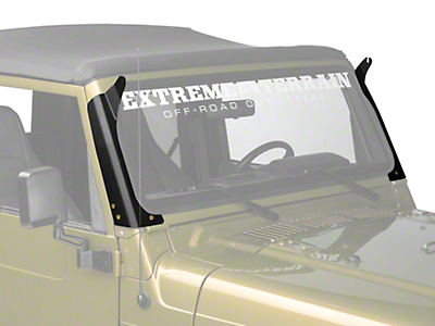 Rigid Industries Windshield Mount for 50 in. LED Light Bar (97-06 Wrangler TJ)