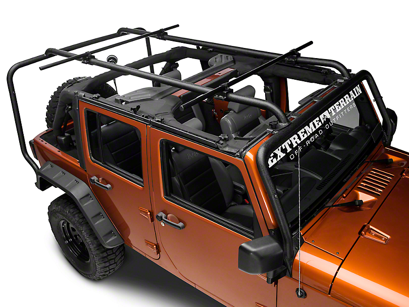 Rugged Ridge Wrangler Sherpa Roof Rack Kit 11703 22 07 17