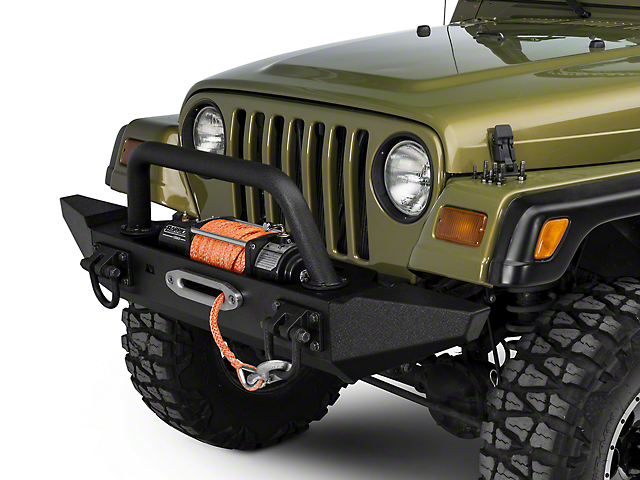 front bumper kit w overrider standard bumper ends 87 06 wrangler tj. Cars Review. Best American Auto & Cars Review