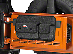 Smittybilt Gear Wrangler Overhead Console Black 5666001