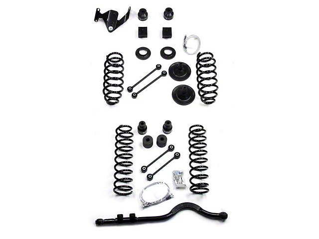Teraflex 4in. Wrangler Lift Kit, No Shocks 1151400 (07-17