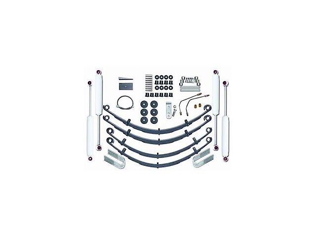 Rubicon Express 4 In. Standard Wrangler Kit w/Shocks 5515
