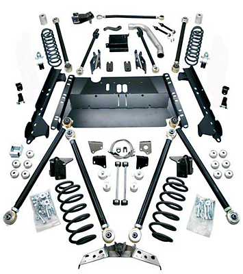 Teraflex 5 in. Pro LCG Suspension System w/o Shocks (04-06 Wrangler TJ Unlimited)
