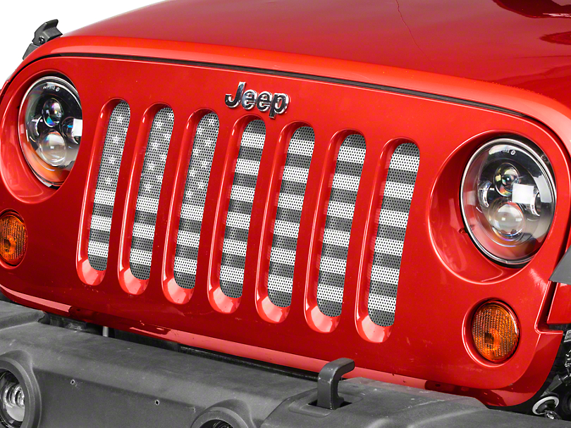 Dirty Acres Grille Insert - American Tactical (07-17 Wrangler JK)