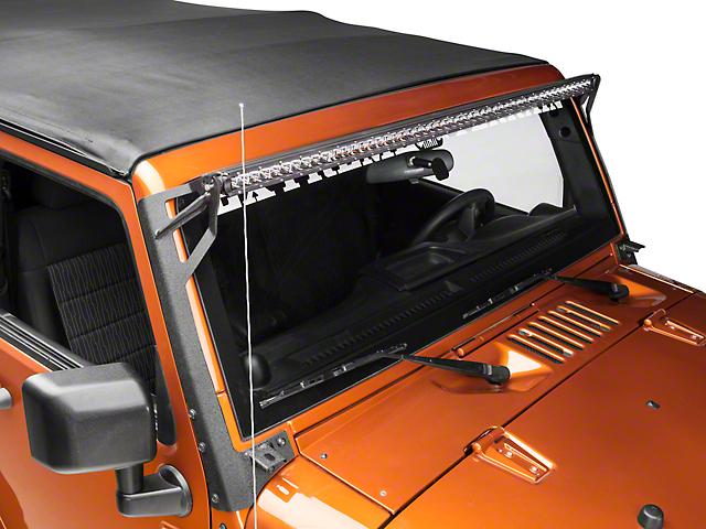 Raxiom Slim 50 in. Light Bar - Black, 5W CREE LED's (07-17 Wrangler JK)