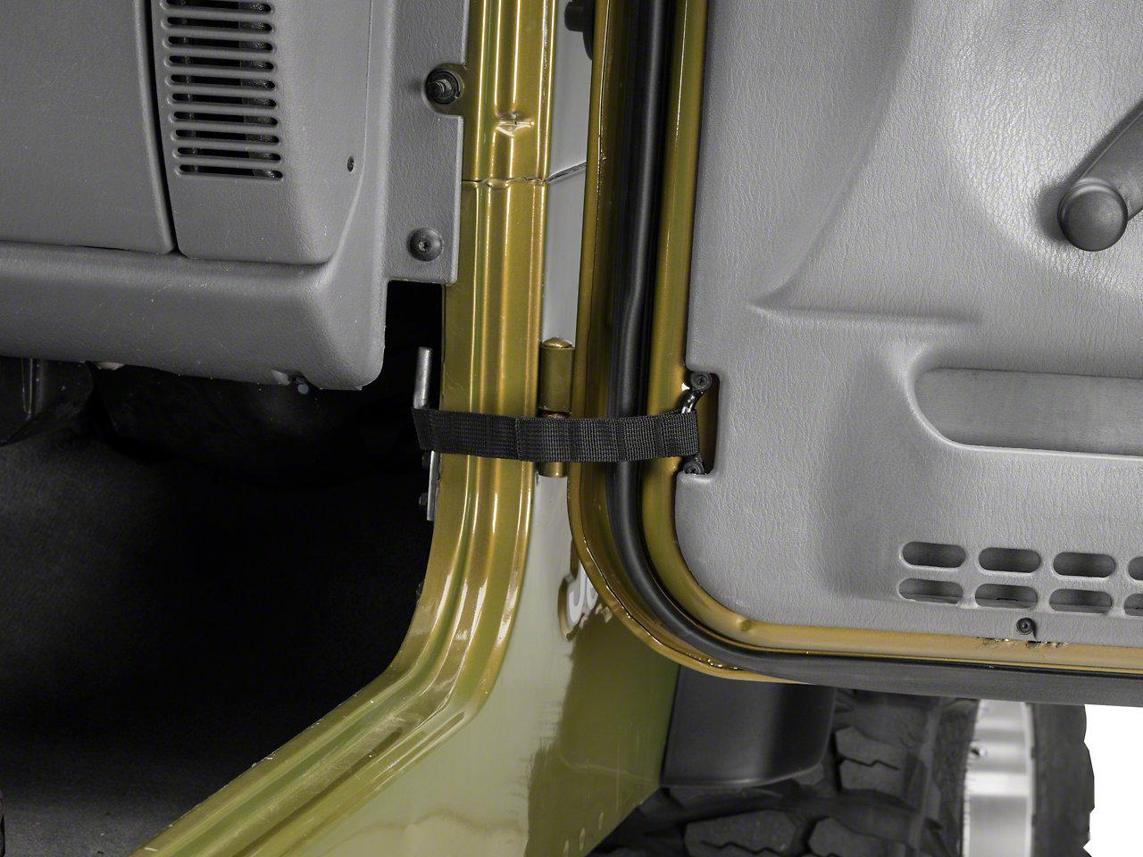 Rugged Ridge Adjustable Wrangler Door Straps 12103 01 87