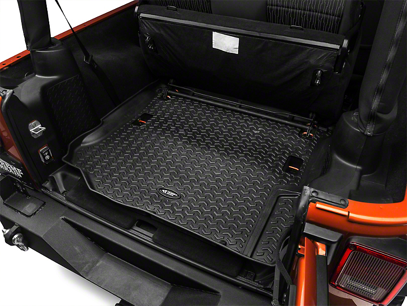 Nd Row Floor Mat Floor Liner Tray Style 4 Piece Black With