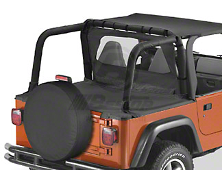Bestop Sport Bar Covers w/ or w/o Soundbar (97-02 Wrangler TJ)