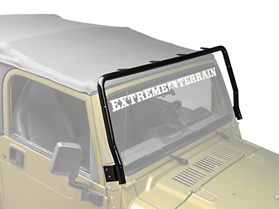 Rugged Ridge Black Powder Coated Light Bar (97-06 Wrangler TJ)