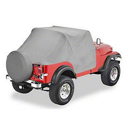 Bestop Charcoal Gray Trail cover (87-91 Wrangler YJ)