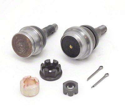 Omix-ADA Front Ball Joint Kit, Includes Upper and Lower, (07-11 Wrangler JK w/ Dana 30 or 44 Axles)