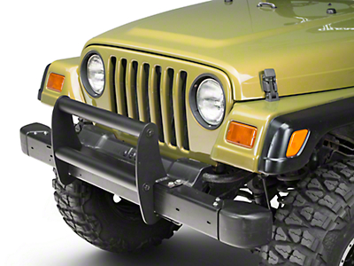 Olympic 4x4 Grille Guard - Textured Black (97-06 Wrangler TJ)