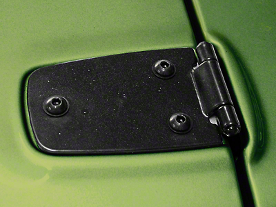 Rugged Ridge Hood Hinge Pair, Black Powder Coat (87-95 Wrangler YJ)
