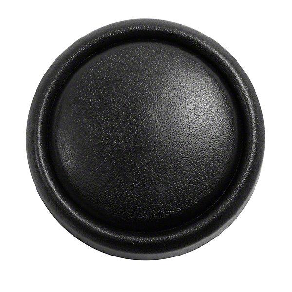 Omix-ADA Horn Button Cap on Steering Wheel - Black (87-95 Wrangler YJ)