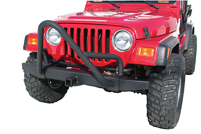 Olympic 4x4 A/T Stinger - Textured Black (87-06 Wrangler YJ & TJ w/ Rock or Factory Bumpers)
