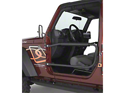 Omix ADA Rugged Ridge Retractable 3 Point Wrangler Seat