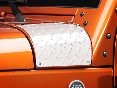 Warrior Products Outer Hood Cowling Cover (07-14 Wrangler JK)