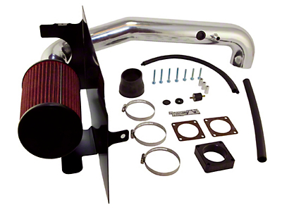 Rugged Ridge Polished Aluminum Cold Air Intake (97-06 Wrangler TJ w/ 4.0L)
