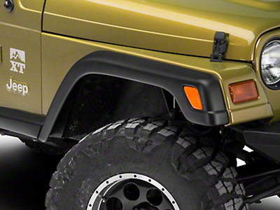 Rugged Ridge 6 Piece Stock Wrangler Fender Flare Kit W O