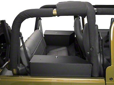 Tuffy Speaker & Storage Security Lock Box Set (92-95 Wrangler YJ)