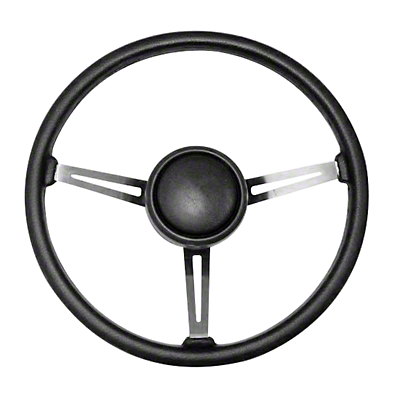 Omix-ADA Steering Wheel Kit w/ Horn Button Cap (87-95 Wrangler YJ)