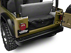 2007 2017 wrangler rear cargo storage extremeterrain free shipping. Black Bedroom Furniture Sets. Home Design Ideas