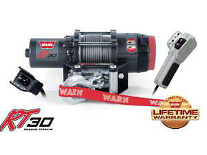 Warn 30 Series RT30 ATV Winch (Universal Application)