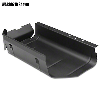 Warrior Products 20 Gal Gas Tank Skid Plate (87-95 Wrangler YJ)