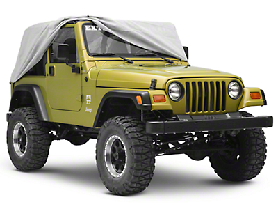 Rugged Ridge Weather Lite Cab Cover (87-06 Wrangler YJ & TJ)