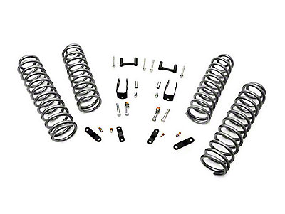 Rough Country 2.5 in. Wrangler Kit w/Coils & Shock