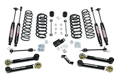 Teraflex 4 in. Lift Kit w/ Shocks (97-06 Wrangler TJ)