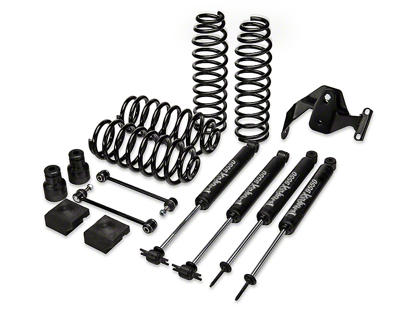 Teraflex 2.5 in. Lift Kit w/ Shocks (07-17 Wrangler JK 2 Door)