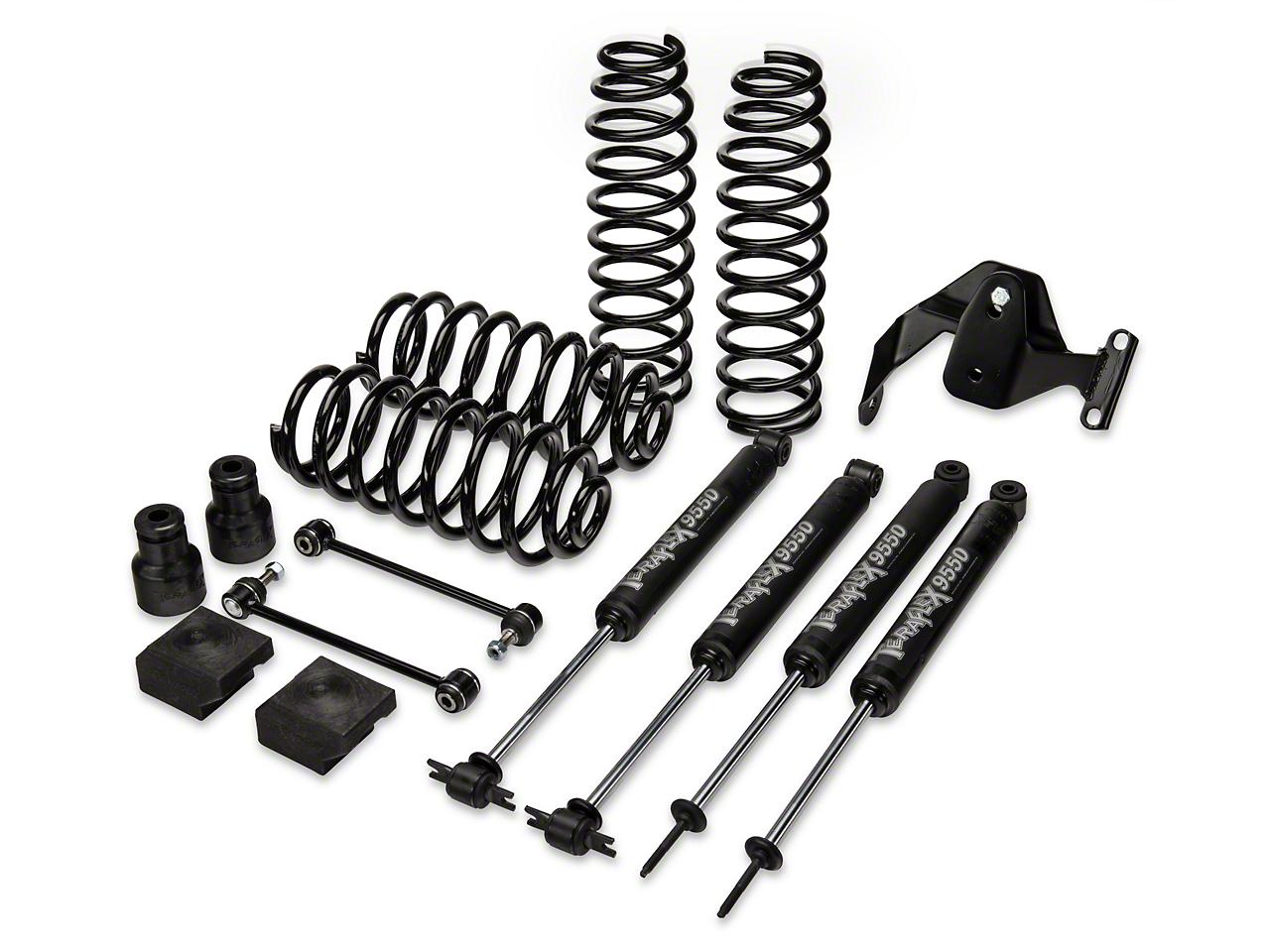 Teraflex 2.5 in. Lift Kit w/ Shocks (07-17 Wrangler JK 2 Door)