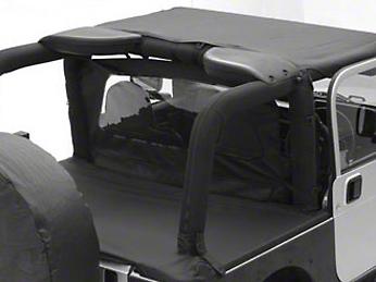 Smittybilt Tonneau Cover- Black Diamond (07-16 Wrangler JK 4 Door)