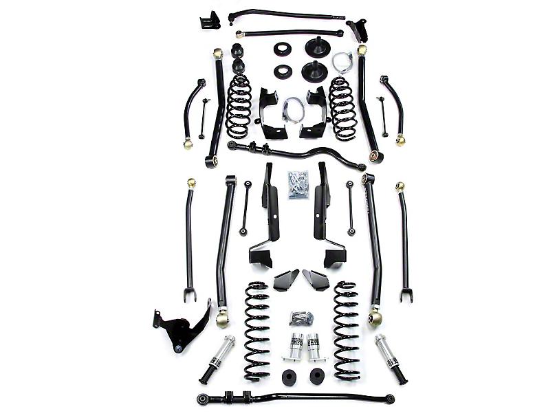 teraflex 6 in  wrangler lift kit w   long flexarms  flip