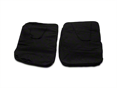 Smittybilt Storage Bag - Hard Doors - Pair - Black (07-14 Wrangler JK)