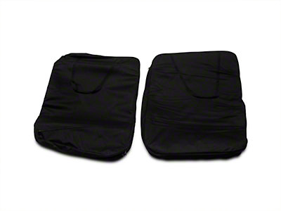 Smittybilt Storage Bag - Hard Doors - Pair - Black (07-15 Wrangler JK)