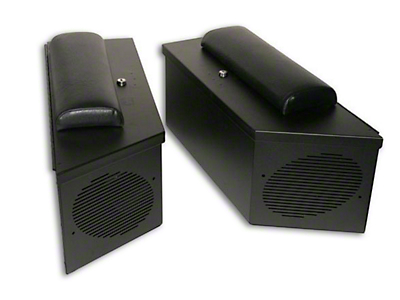 Tuffy Wrangler Speaker Amp Storage Lockbox Set Black 047 01