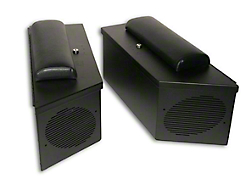 Tuffy Wrangler Speaker Amp Storage Lockbox Set Black 047 01