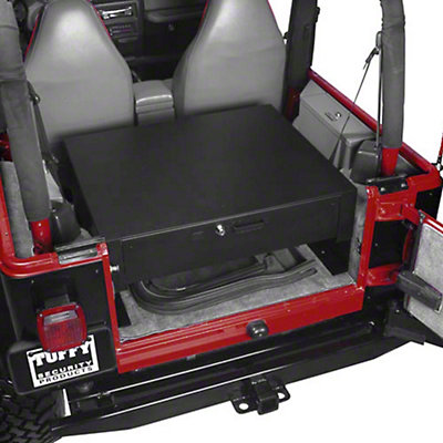 tuffy wrangler rear cargo security drawer 058 01 87 06 wrangler yj tj free shipping. Black Bedroom Furniture Sets. Home Design Ideas