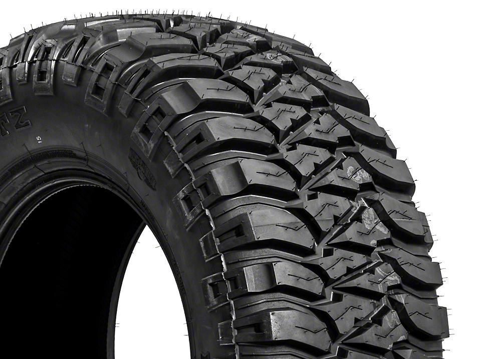 Mickey Thompson Baja MTZ Radial Tire OWL; LT315/70R17 (87-17 Wrangler YJ, TJ & JK)