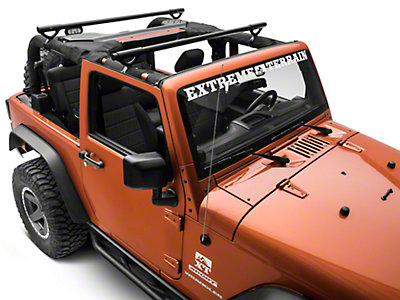 Olympic 4x4 Wrangler Quick N Easy Rack Textured Black 908