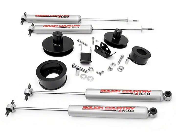 How To Install A Rough Country 2 U201d Front  1 4 U201d Rear Spacer