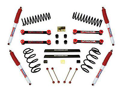SkyJacker 4 in. Sport Lift w/ Shocks (03-06 Wrangler TJ)