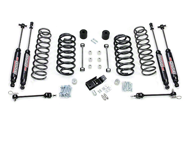 Teraflex 4 in. Wrangler Lift Kit, w/Shocks 1241450 (97-06